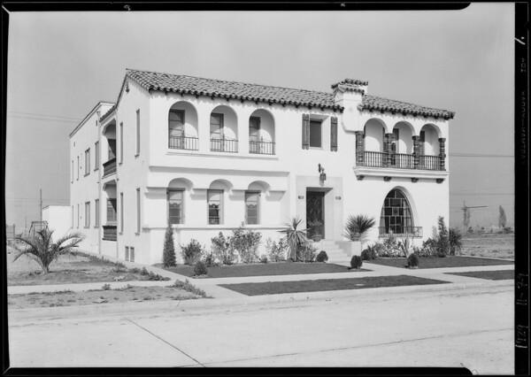 Weinstein Apartments, 4195 Garthwaite Avenue, Los Angeles, CA, 1929 [image 1]