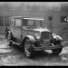 Jewett sedan, Southern California, 1931
