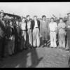 Boys at stock show, Southern California, 1930