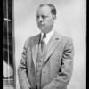 Mr. Washburn, Southern California, 1931