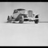 Auburn runs at Muroc Dry Lake, Southern California, 1932
