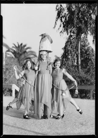 Christmas festival, Evergreen playground, Los Angeles, CA, 1930