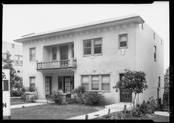 6842 Sunset Boulevard, Los Angeles, CA, 1926