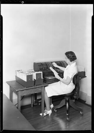 Doctors, nurses, employees, etc., Southern California, 1930