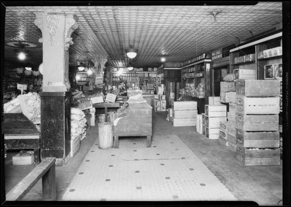 Ralphs grocery, Southern California, 1932