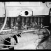 Sludge in motor of old Essex, Union Oil Co., Southern California, 1935