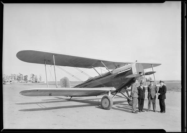 Airplane, Flexo Manufacturing Co., Southern California, 1926