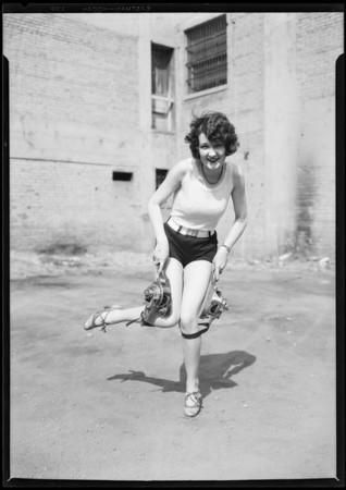 Charles Bird, Martin shock absorber, Charleston dancer from will, Southern California, 1925