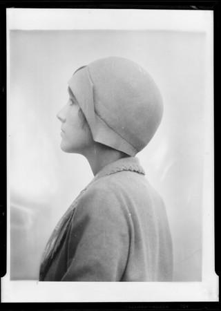 Retouched Ann Lindbergh, Southern California, 1929