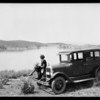 Chevrolet at Mockingbird Lake, Southern California, 1926