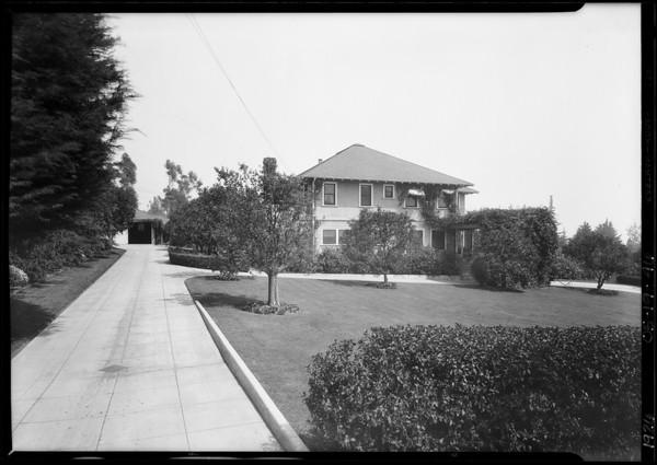 Southeast corner, North Santa Anita Avenue & Foothill Boulevard, Arcadia, CA, 1926