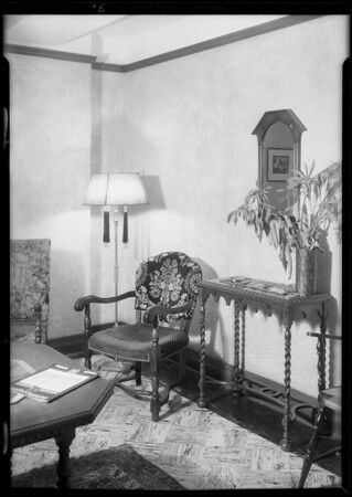 Retake on Hollywood office, Southern California, 1930