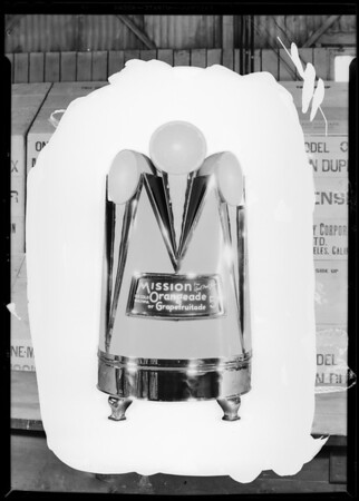 Dispenser, California Crushed Fruit Corporation, Southern California, 1930