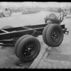 Flexibility of Ford rear end, Southern California, 1931