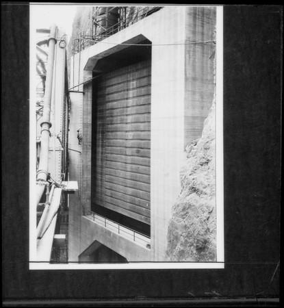 Lantern slides negative, Boulder Dam [Hoover Dam], Nevada, 1935