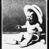 Baby crying, Southern California, 1931