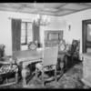 Interiors at 1444 Portia Street, Los Angeles, CA, 1931