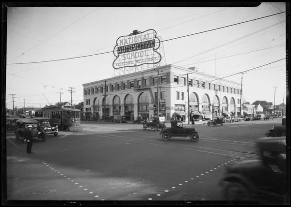 National Auto School, Southern California, 1926