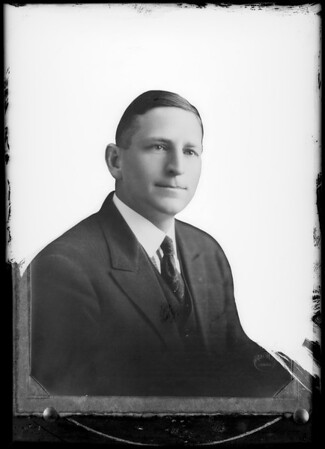 Portrait of Mr. Retzer, Southern California, 1930