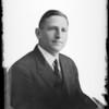 Portrait of Mr. Retzer, Southern California, 1930