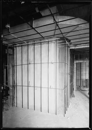 County Hospital, E.V. Fallgren, plastering contractor, Los Angeles, CA, 1931
