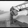 Air salesman, Gilfillan, Southern California, 1926