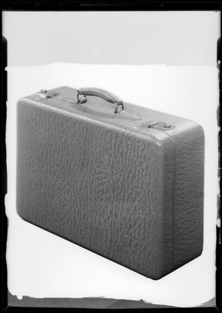 Suitcase, May Company, Southern California, 1931