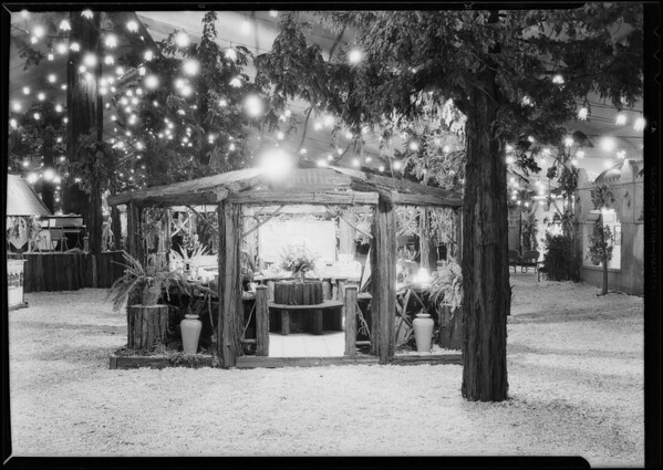 Whittier booth, Southern California, 1930