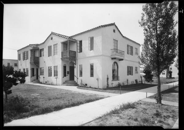 Houses at 4139 Garthwaite Avenue & 4264 South Leimert Boulevard, Los Angeles, CA, 1931