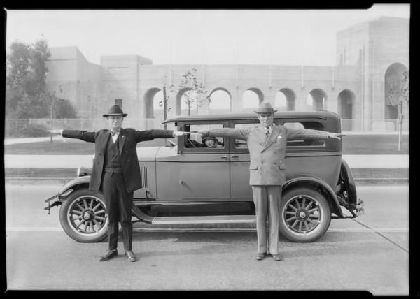 Velie Car, Los Angeles, CA, 1926