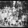 May Day group, Southern California, 1931