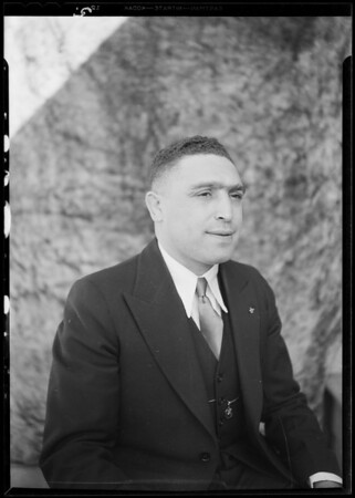 Portraits for Moose members, Southern California, 1930