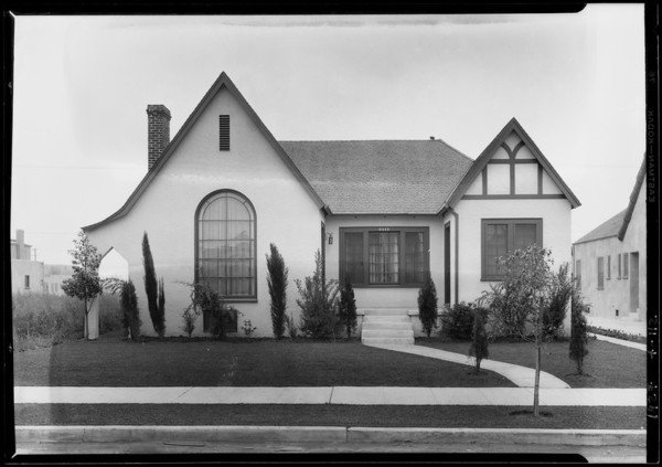 6446 Maryland, Los Angeles, CA, 1927