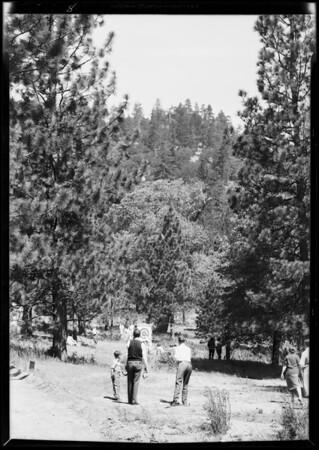 Shots at Camp Seely, Crestline, CA, 1931