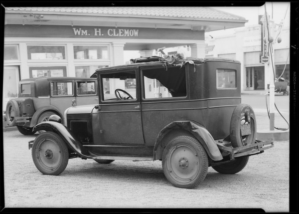 Chevrolet coach, G.W. A. Hassler, owner, San Fernando, Southern California, 1931