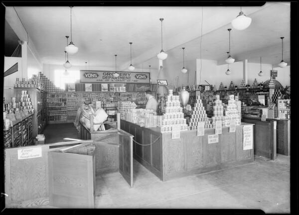 Store at Wilshire Boulevard & San Vicente Boulevard, Los Angeles, CA, 1929