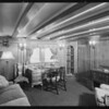 Interior views of Carissima, Southern California, 1929