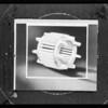 U.S. Electrical Mfg. Co., Southern California, 1931