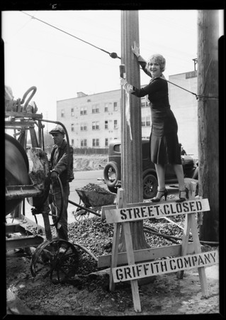 Publicity on street openings, South Metropolitan Improvement Association, Southern California, 1931