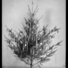Christmas tree for composite with Kissel car, Southern California, 1928