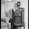 Radio in studio, Lyric Radio, Southern California, 1931