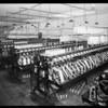 Interior of factory, Mission Hosiery Mills, Los Angeles, CA, 1931
