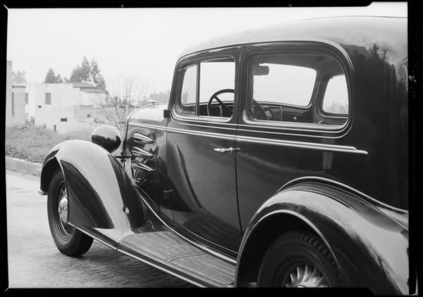 Oldsmobile - C.C. Koveny assured, Southern California, 1934