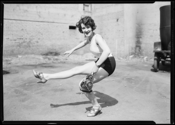 Charles Bird, Martin shock absorber, Charleston dancer from will, Southern California, 1925