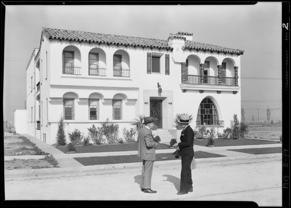 Weinstein Apartments, 4195 Garthwaite Avenue, Los Angeles, CA, 1929 [image 2]