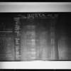 Blackboard, Southern California, 1926