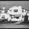 His homes - exterior & interior, Southern California, 1931