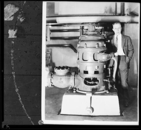 Pomona Pump, Southern California, 1931