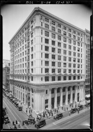 Pacific Southwest Bank, West 6th Street and South Spring Street branch, Los Angeles, CA, 1926