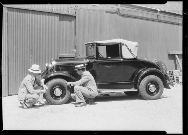 Airwheels at P.J. Walker, Southern California, 1932